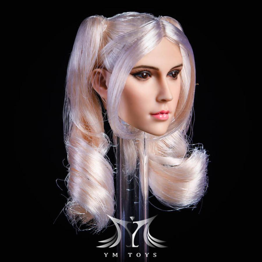 YM Toys - Female Head Sculpt YMT18