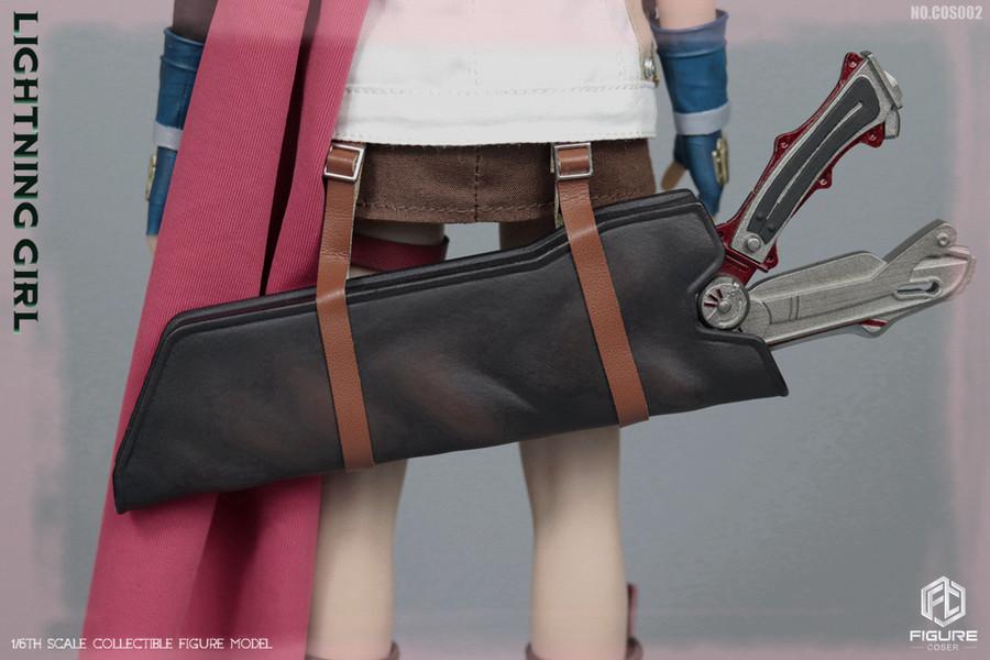 Figure Coser - Lightning Girl