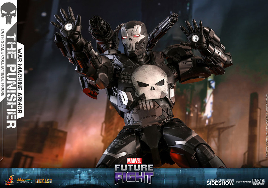 Hot Toys - Marvel Future Fight: The Punisher War Machine Armor