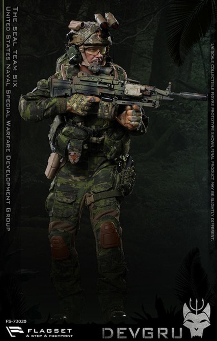 Flagset - US Seals 6 Team DEVGRU Jungle Dagger Action