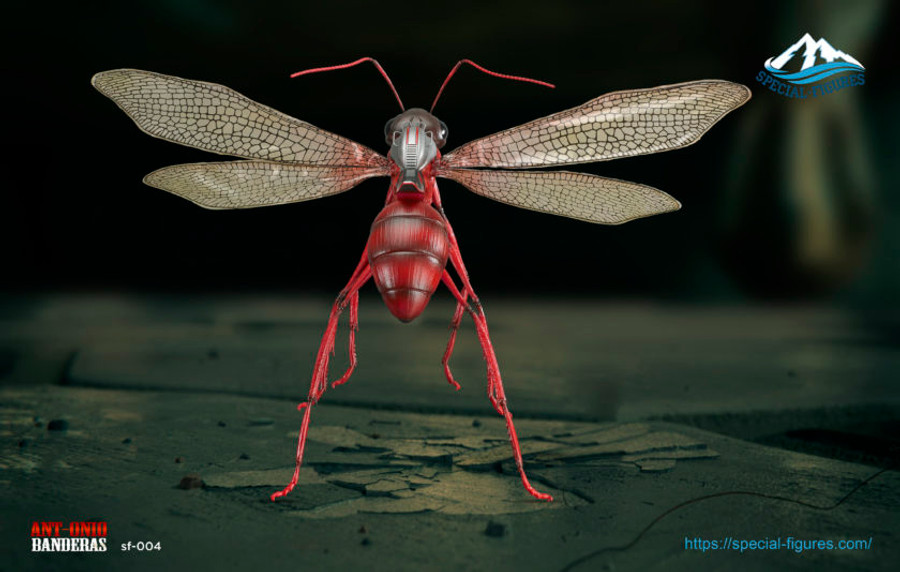 Special Figures - Ant-onio Banderas - Red Ant