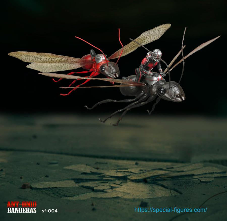 Special Figures - Ant-onio Banderas - Black Ant