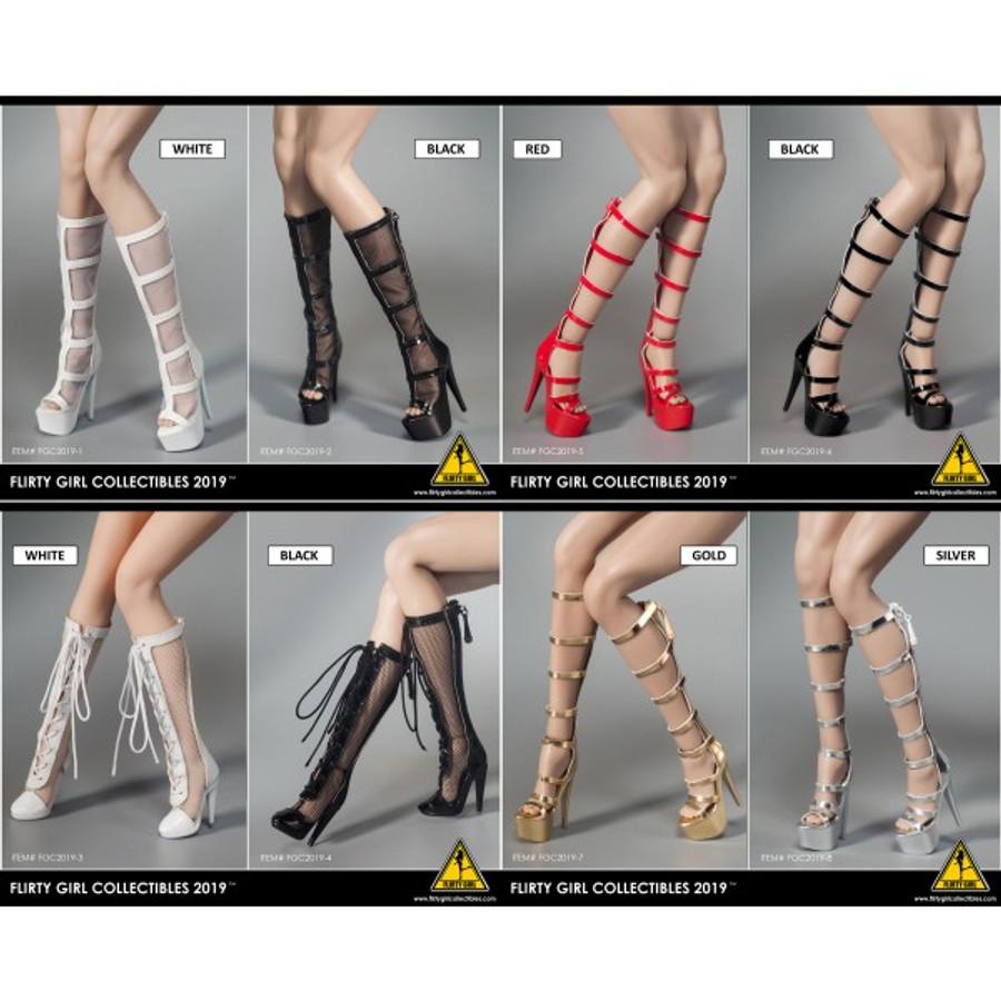 Flirty Girl - Fashion Boots and Stilettos