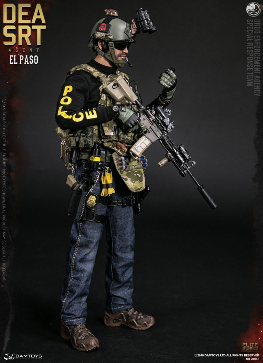 DAM Toys - DEA SRT (Special Response Team) Agent El Paso