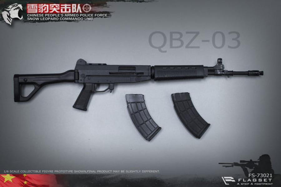 Flagset - Chinese Snow Leopard Commando Unit - Female Sniper