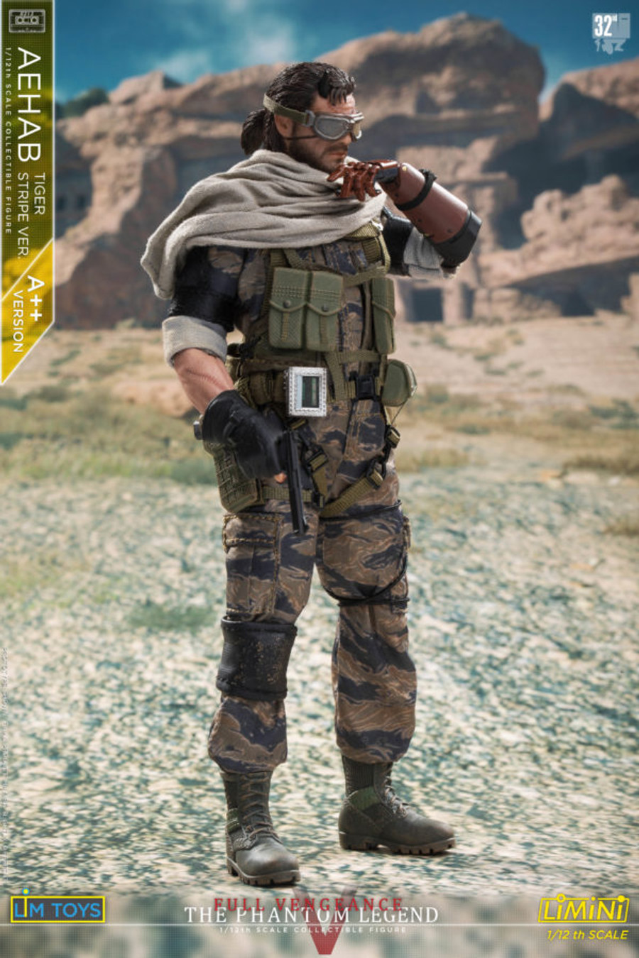 LIM Toys - 1/12 Scale - Aehab Tiger Stripe Figure Normal (A++ Version)