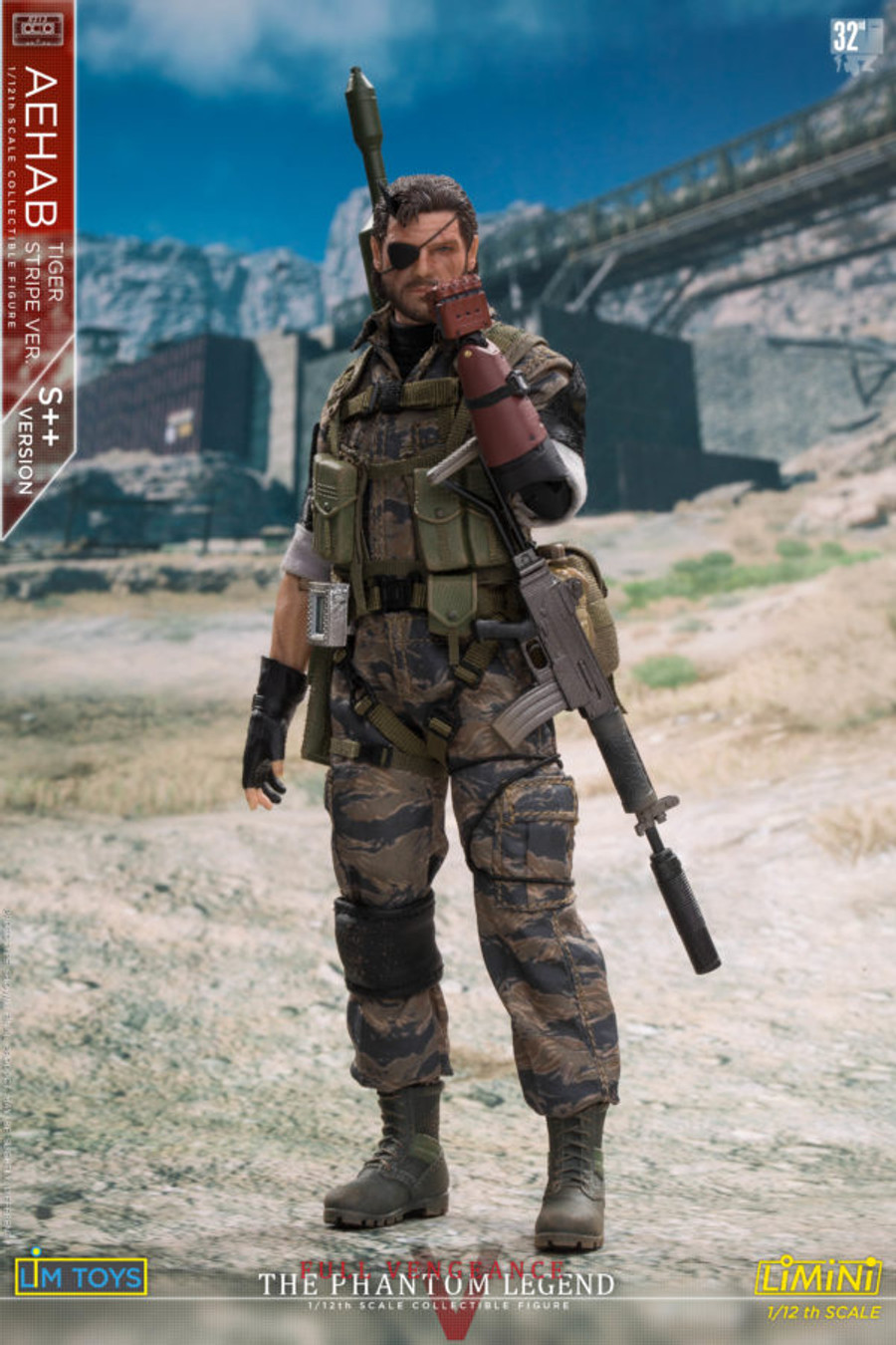 LIM Toys - 1/12 Scale - Aehab Tiger Stripe Figure Special (S++ Version)