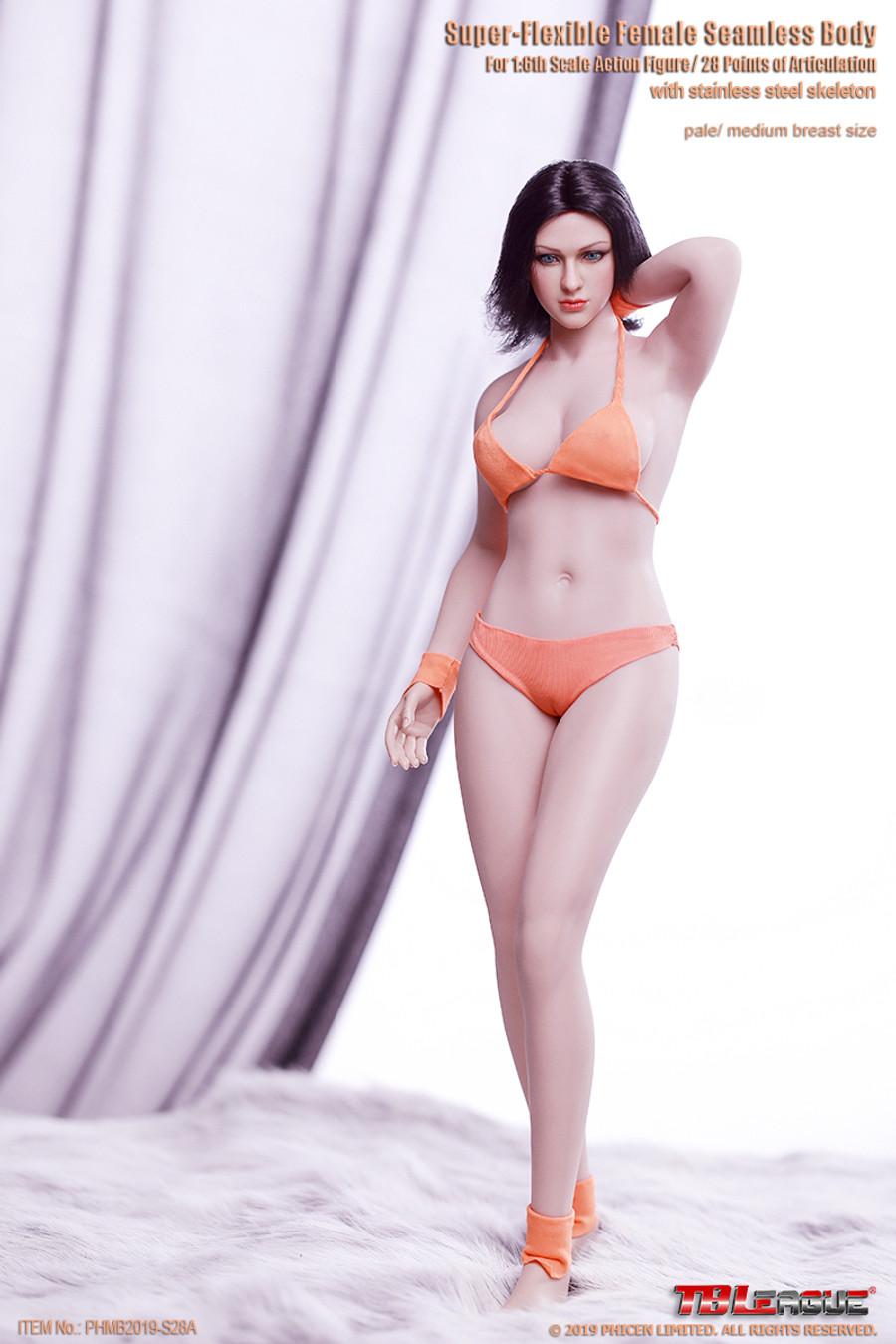 TBLeague - Buxom Women Female Super-Flexible Seamless Body - S28A