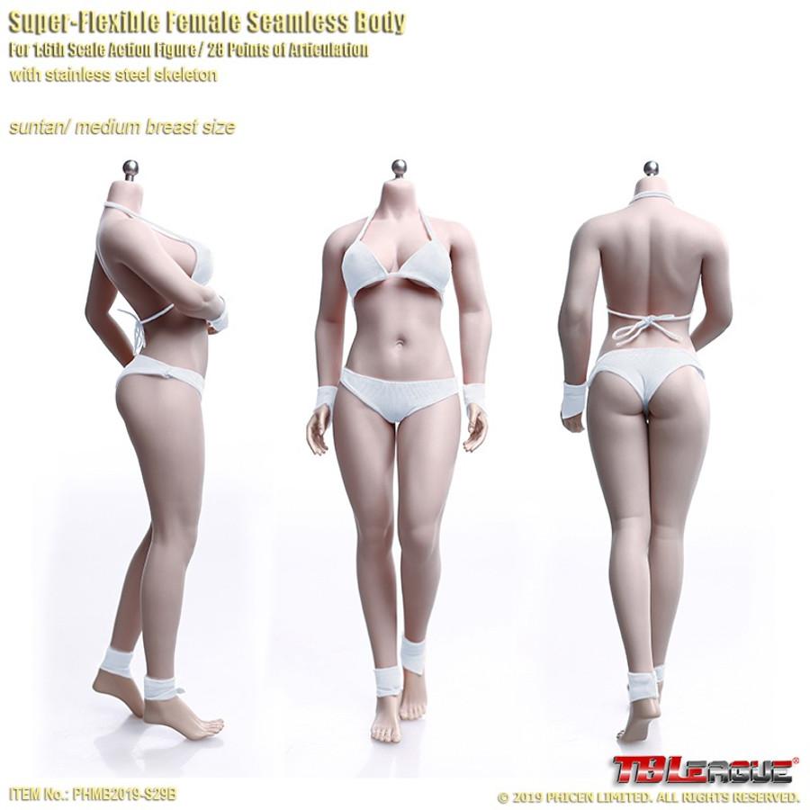 TBLeague - Buxom Women Female Super-Flexible Seamless Body - S29B