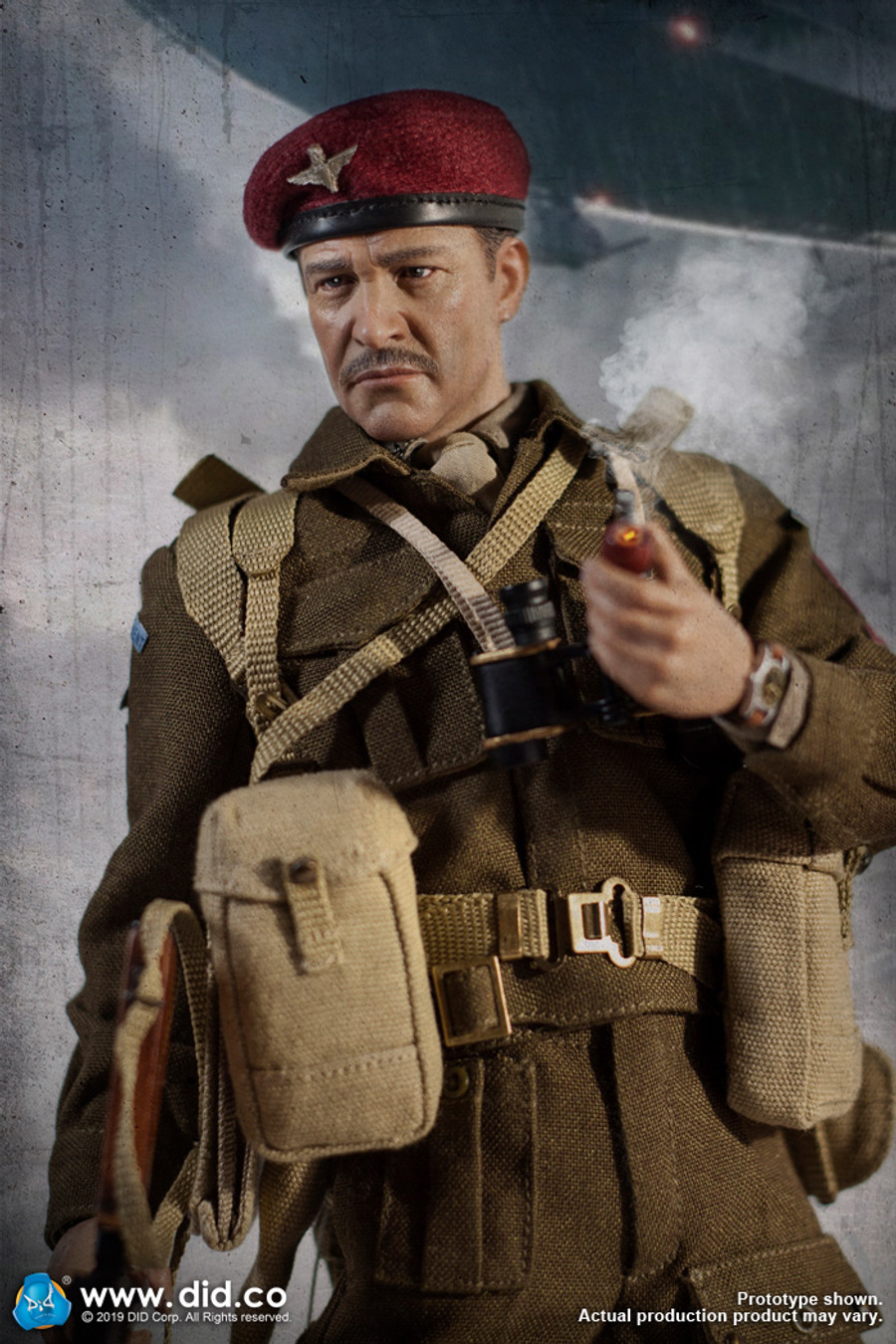 DID - British 1st Airborne Division (Red Devils) Commander Roy