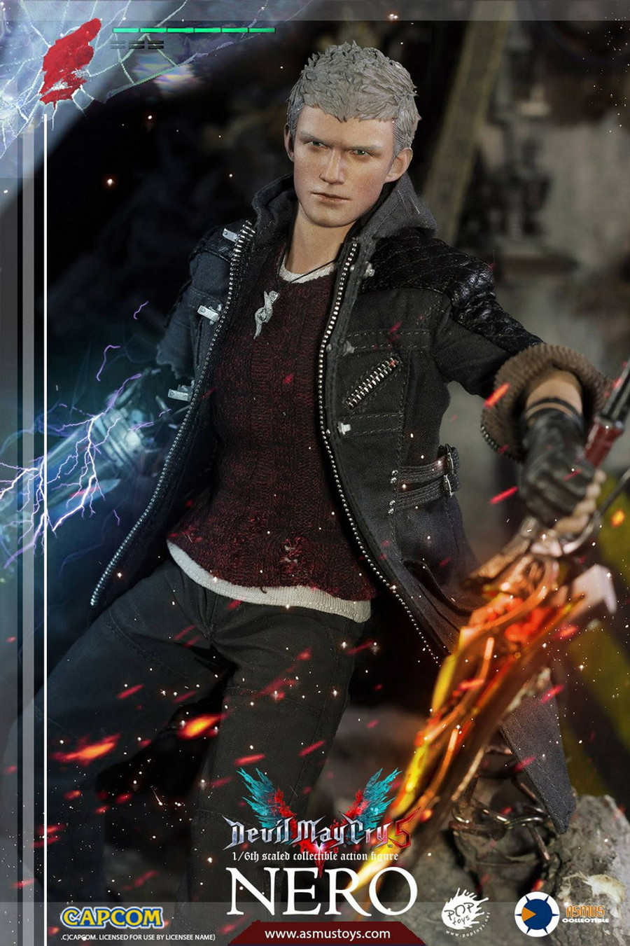 Asmus Toys - The Devil May Cry Series: Nero DMC V