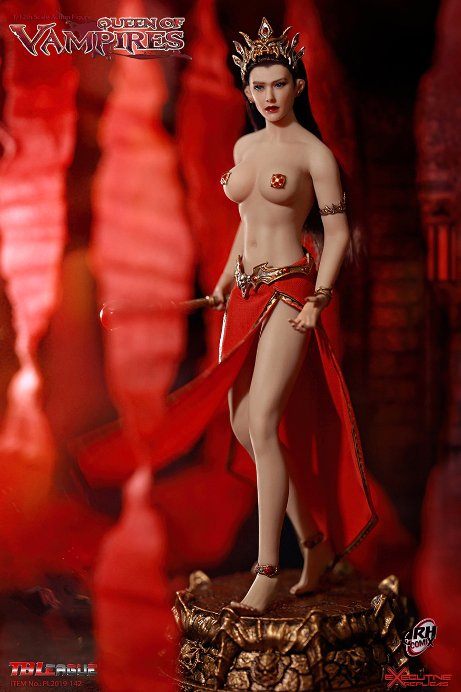 TBLeague - 1/12 Arkhalla Queen of Vampires