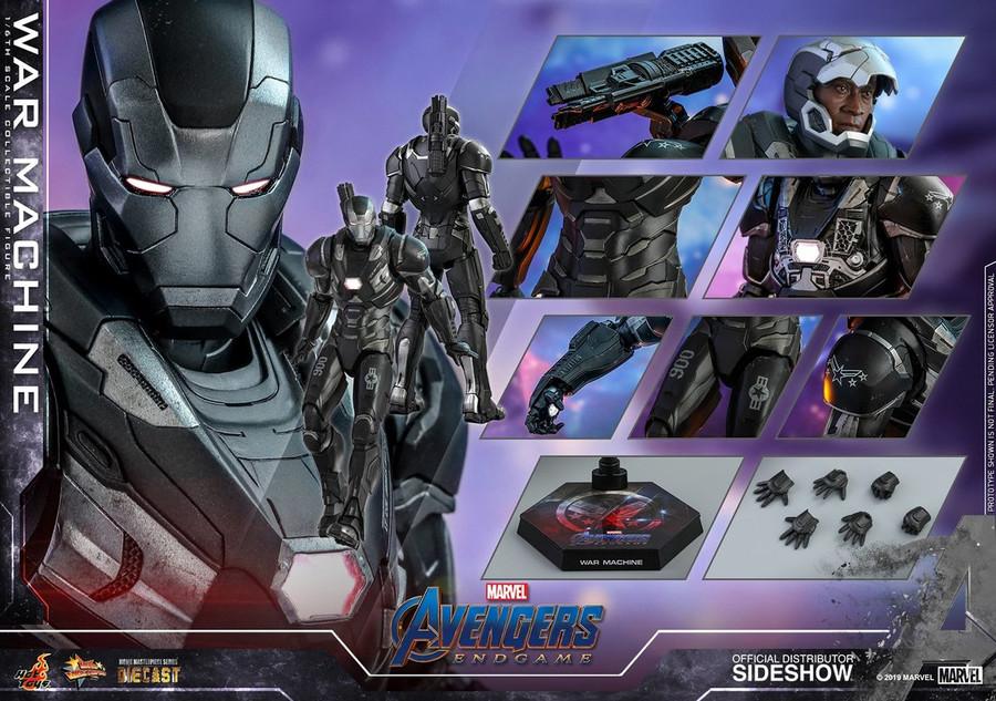 Hot Toys - Avengers: Endgame - War Machine