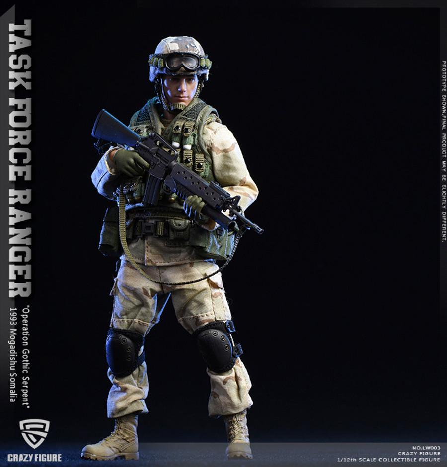 Crazy Figure - 1/12 US Military 75th Rangers Regiment