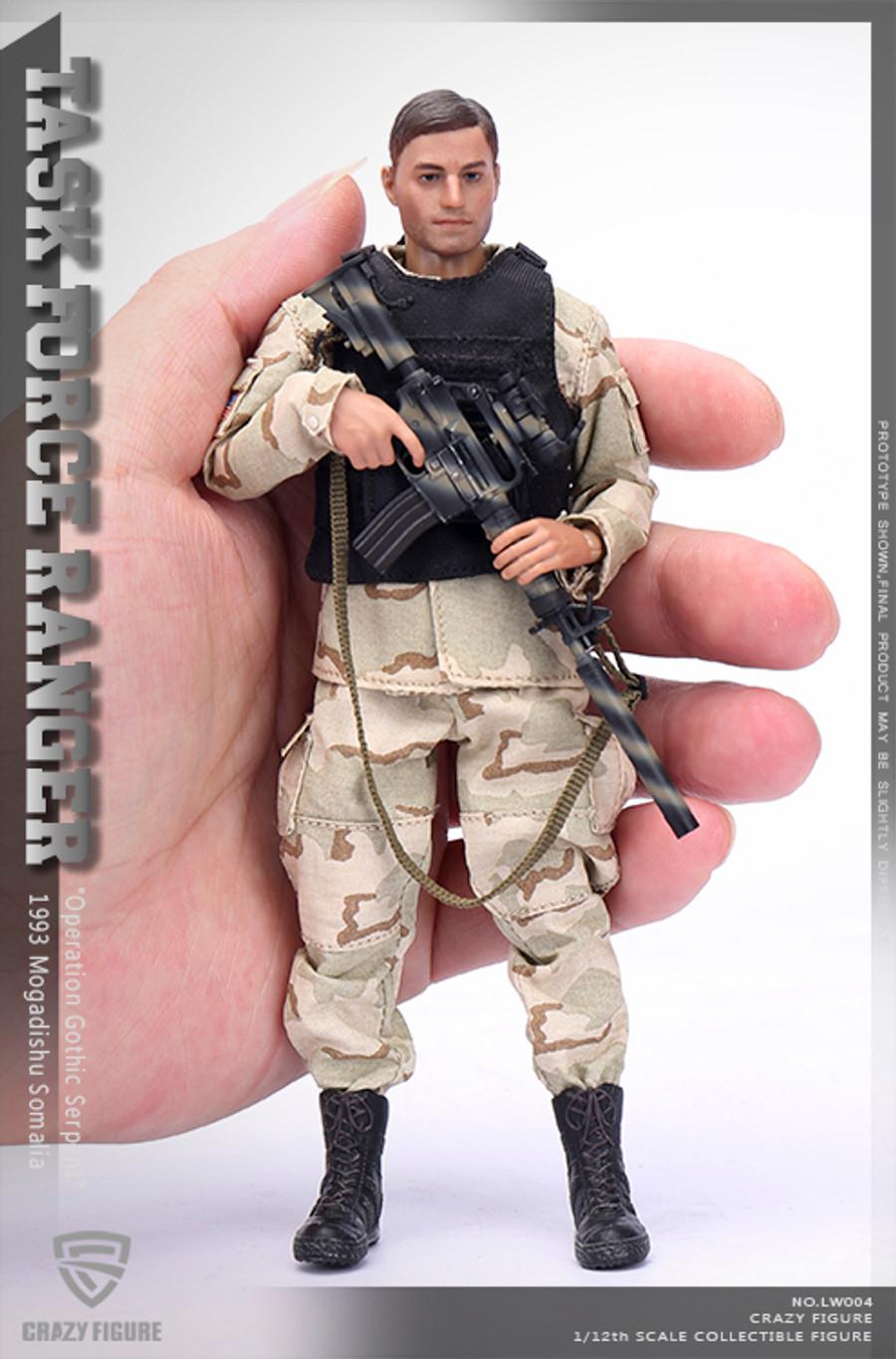 Crazy Figure - 1/12 US Delta Special Force