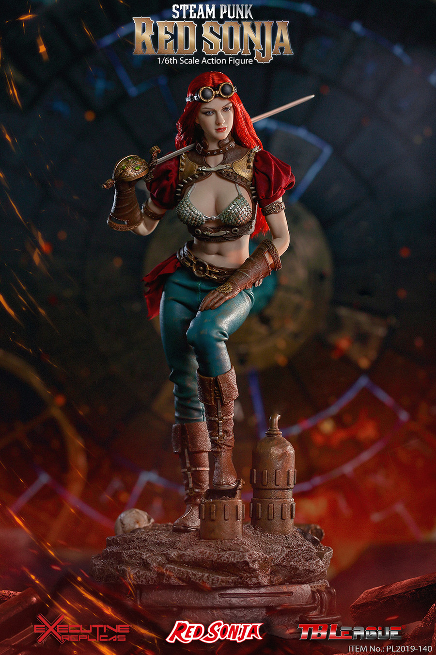 TBLeague - Steam Punk Red Sonja Classic Version