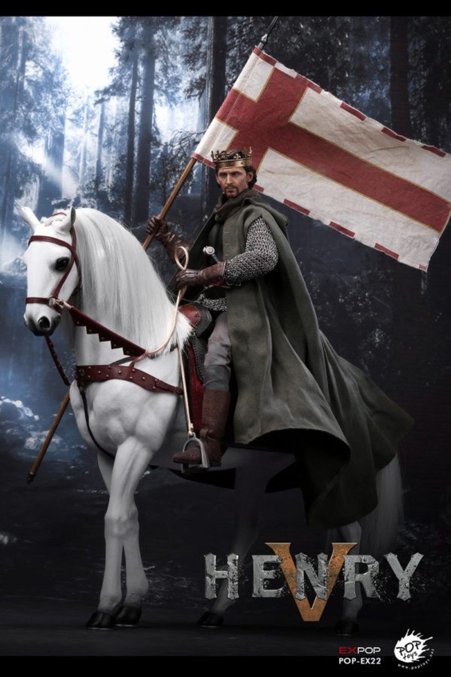 Pop Toys - King Henry V of England War Horse