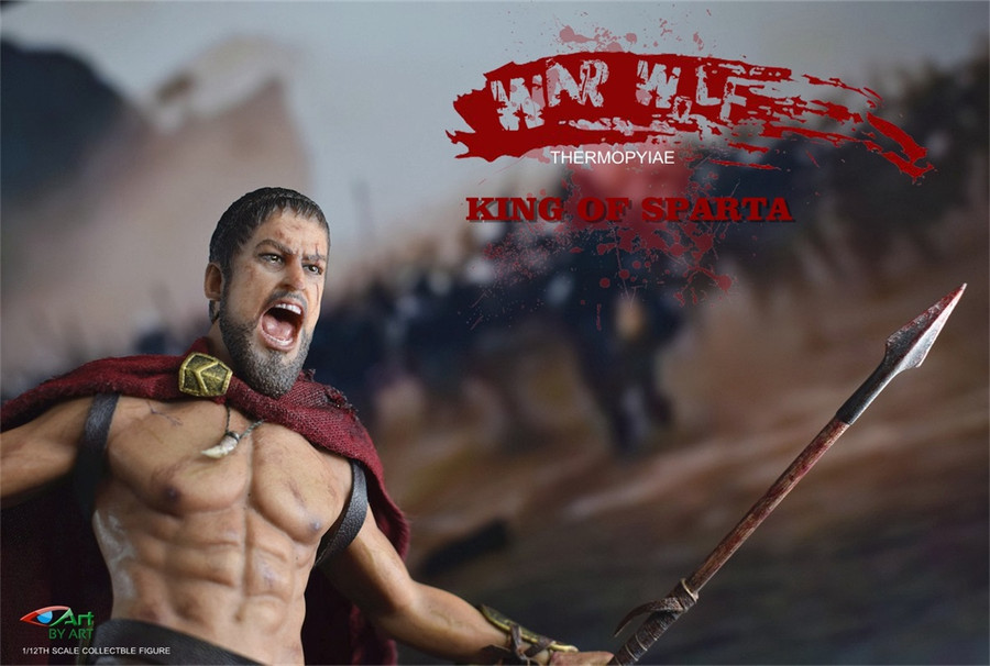 By-Art Figure - 1/12 King of Sparta