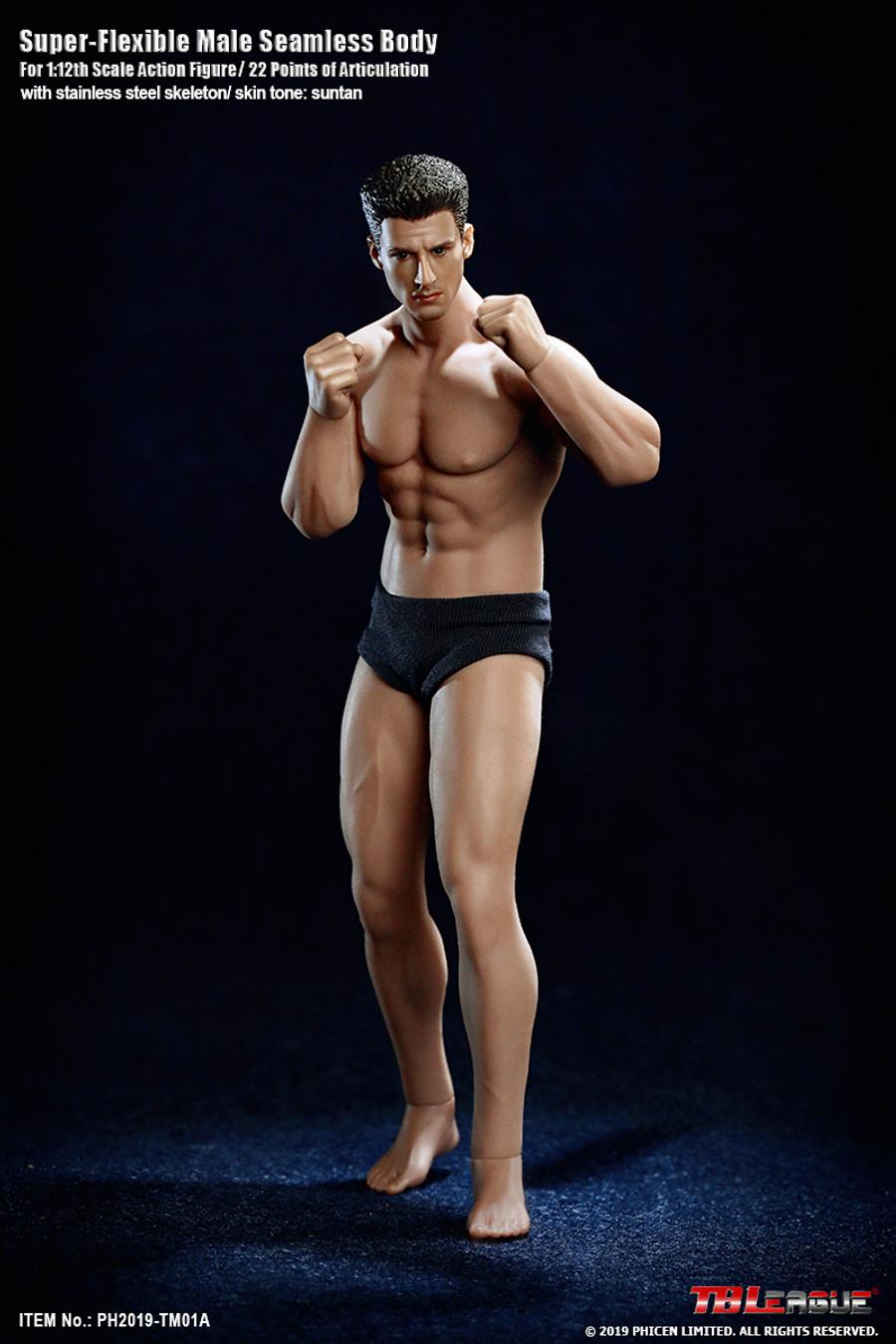 TBLeague - 1/12 Super Flexible Male Seamless Body - TM01A