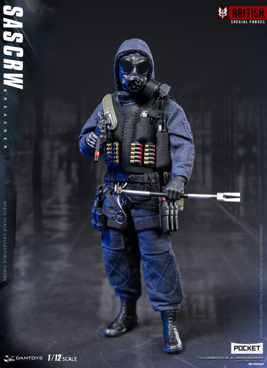 DAM Toys - 1/12 Pocket Elite Series: SAS CRW Breacher