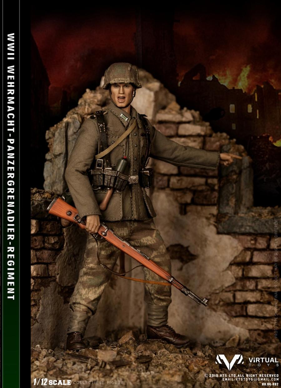VTS Toys - 1/12 Wehrmacht Panzergrgrenadier Regiment