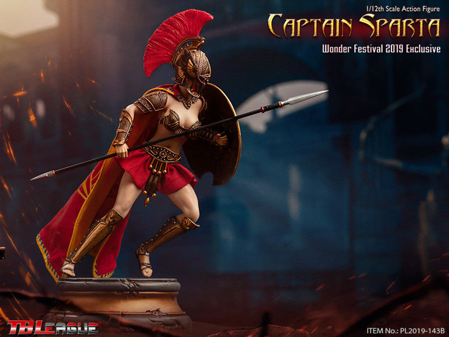 TBLeague - 1/12 Captain Sparta Wonder Festival 2019 Exclusive