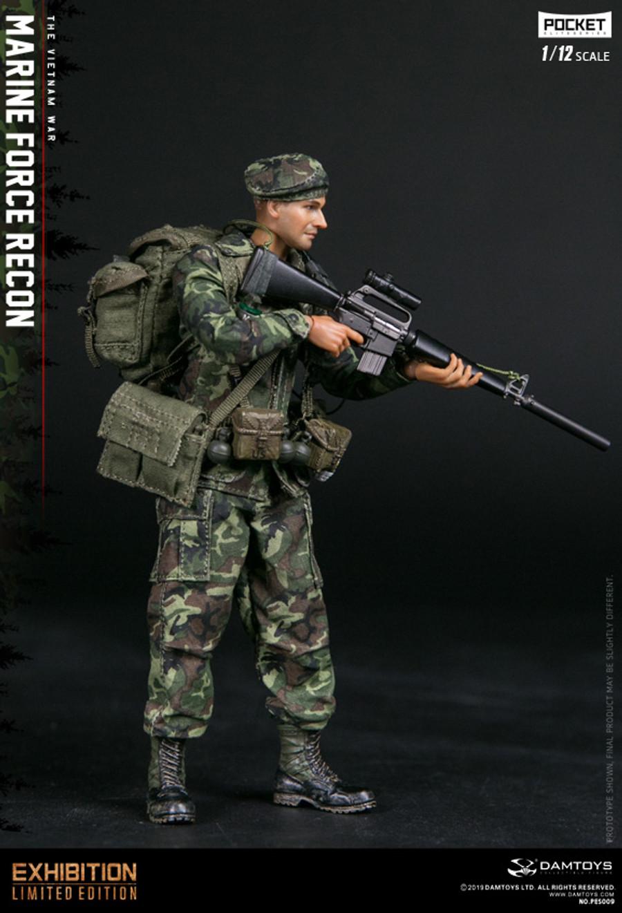 DAM Toys - 1/12 Pocket Elite Series: Marine Force Recon In Vietnam