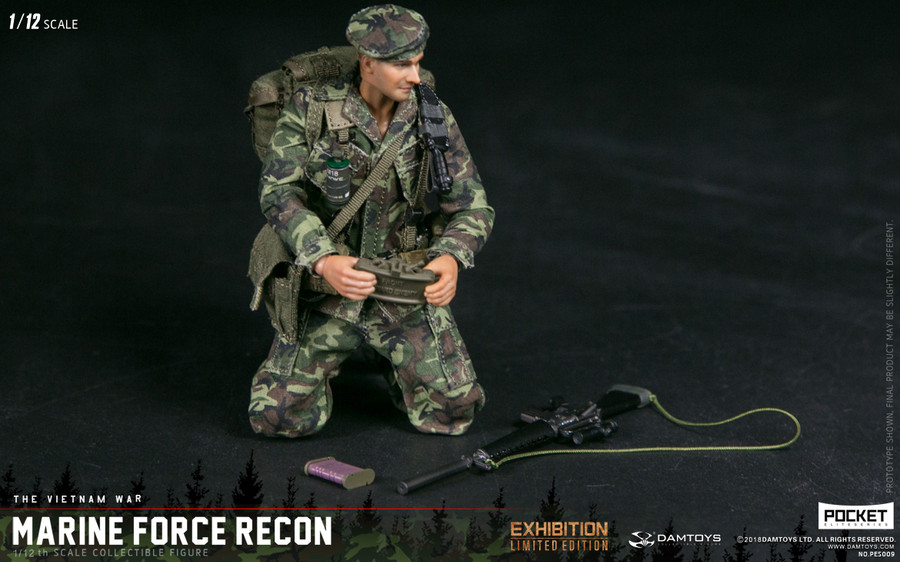 DAM Toys - 1/12 Pocket Elite Series: Marine Force Recon In Vietnam