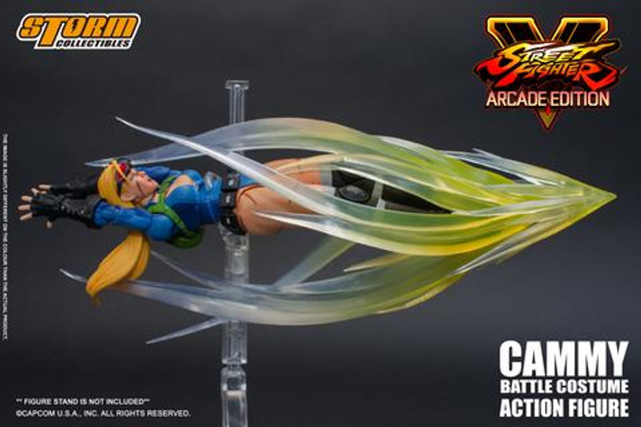Storm Collectibles - Street Fighter V: Arcade Edition Battle Costume Cammy 1/12 Scale SDCC 2019 Exclusive