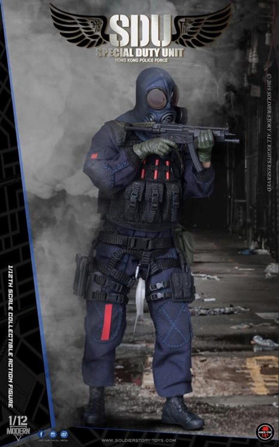 Soldier Story - 1/12 HK SDU Assault Team