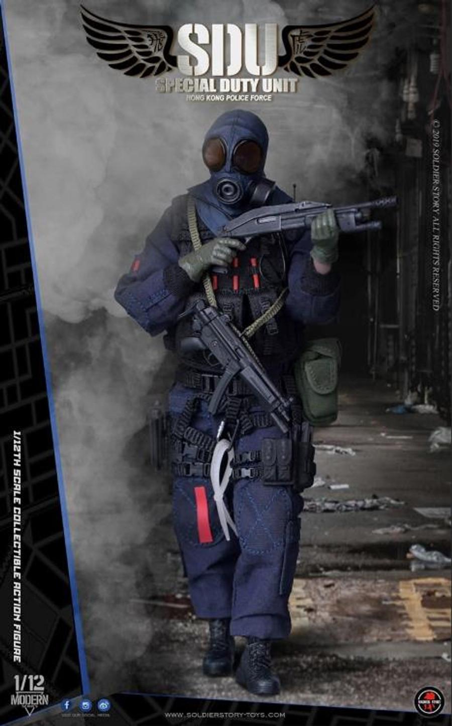 Soldier Story - 1/12 HK SDU Assault Team