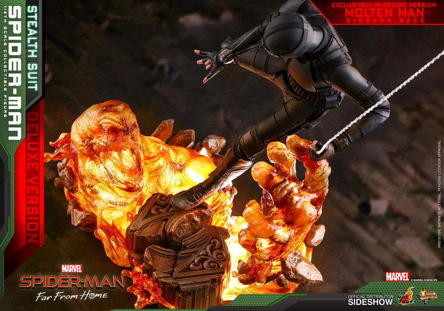 Hot Toys - Spider-Man: Far From Home - Spider-Man (Stealth Suit) Deluxe Version