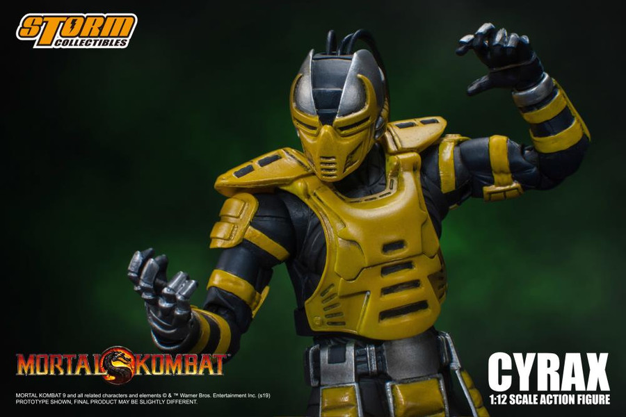 Storm Collectibles - Mortal Kombat VS Series: Cyrax 1/12 Scale