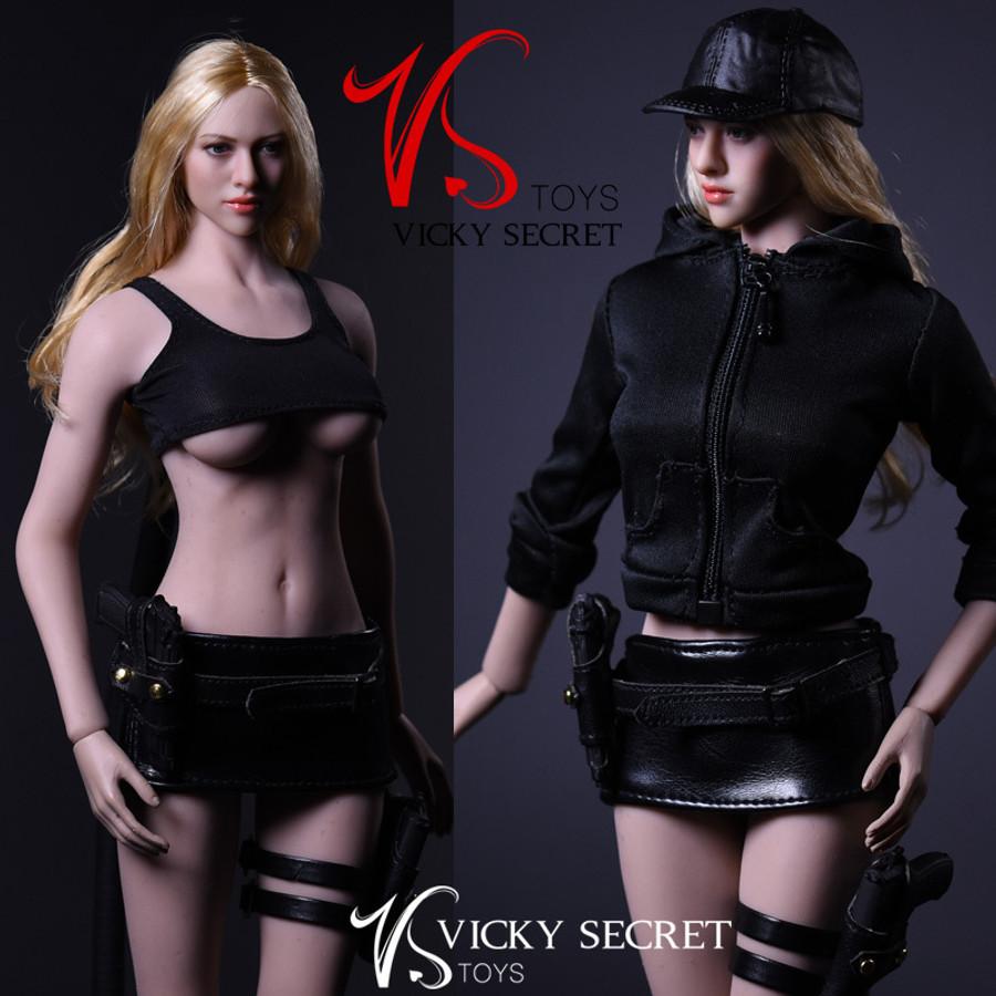 VS Toys - Female Assassin Clothing Set B