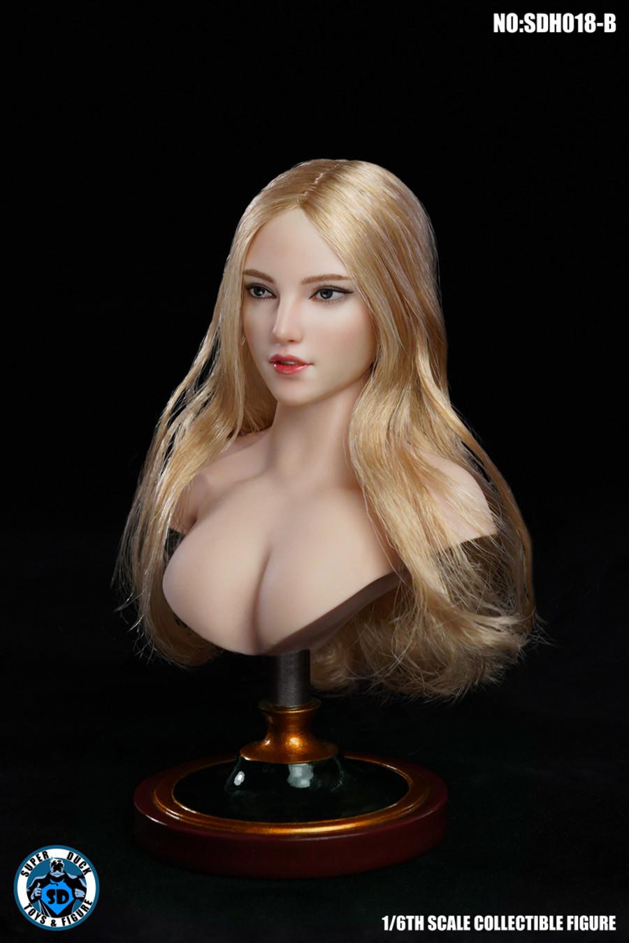 Super Duck - Caucasian Headsculpt