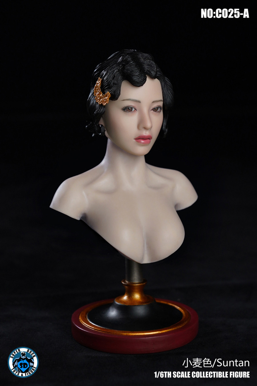 Super Duck - Female Bust Stand
