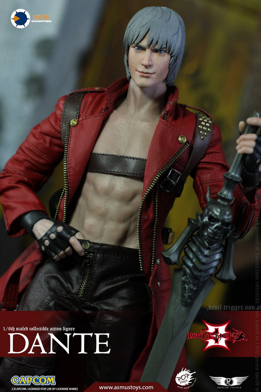 Asmus Toys - The Devil May Cry Series: Dante DMC III