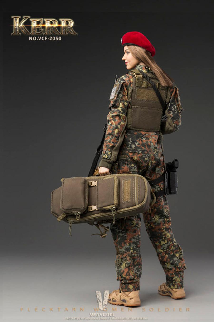 Very Cool - Flecktarn Women Soldier Kerr