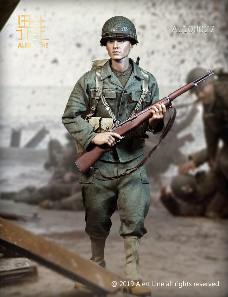 Alert Line - WWII U.S. Army Uniform
