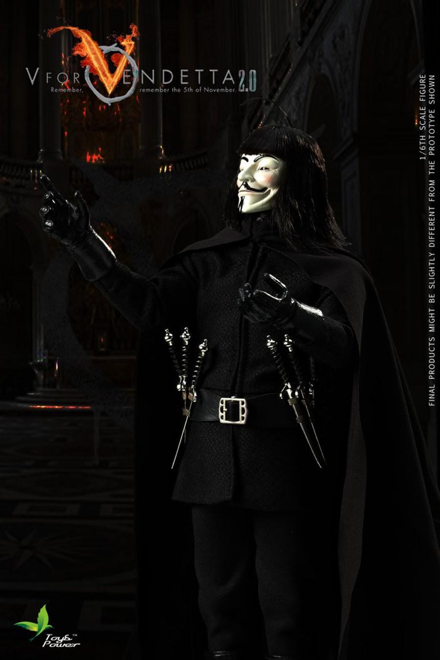 Toys Power  -  V for Vendetta 2.0
