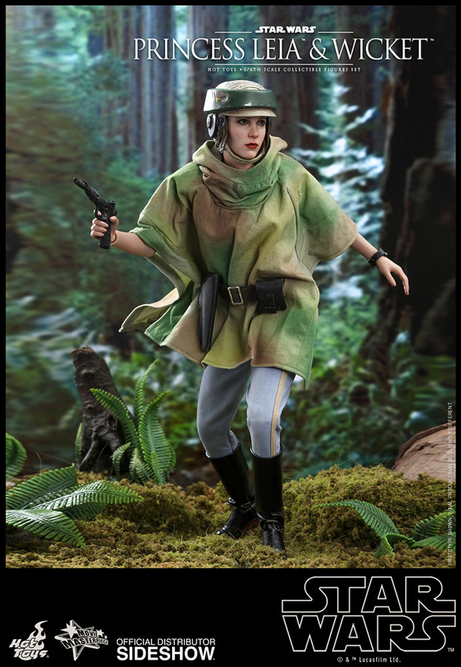 Hot Toys - Star Wars: Return of the Jedi - Princess Leia & Wicket Set