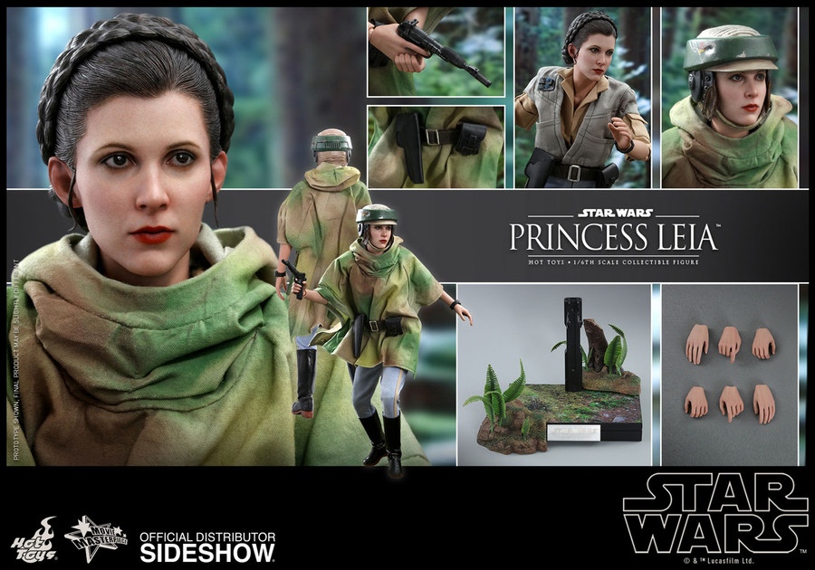 Hot Toys - Star Wars: Return of the Jedi - Princess Leia