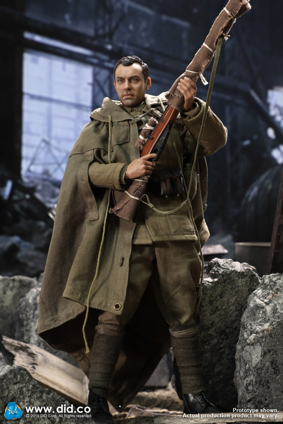 DID - WWII Russian Sniper - Vasily Zaitsev (Non Weathered)