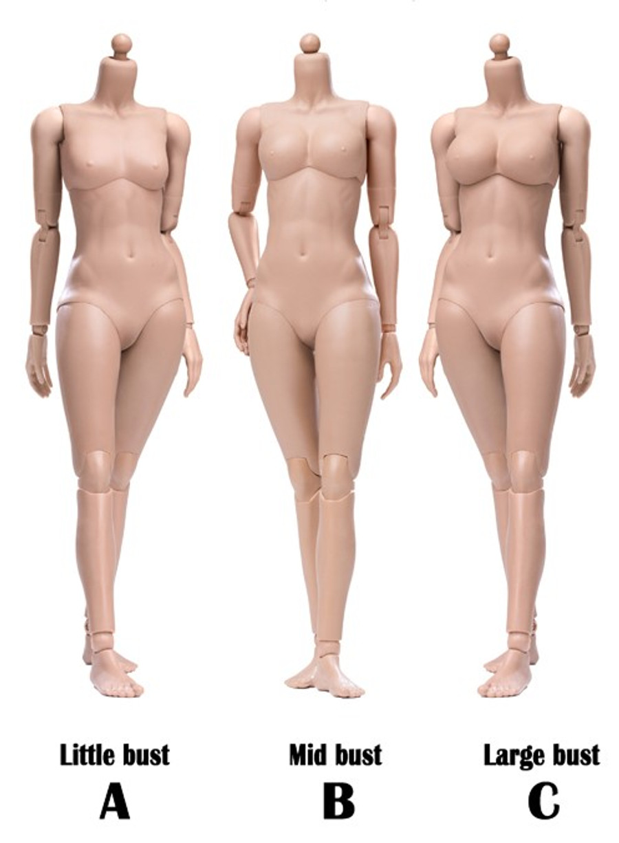 POP Toys - Super Flexible Female Body - Sun Tan