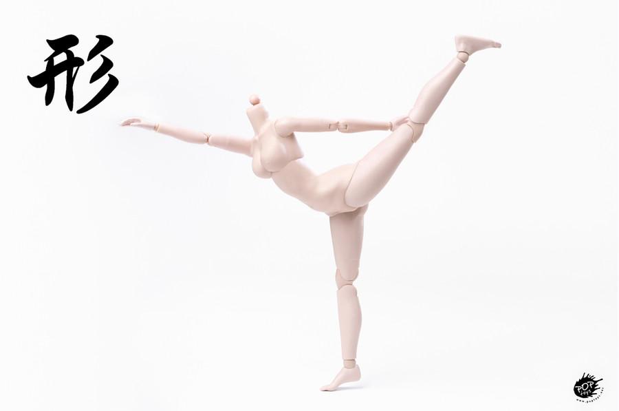 POP Toys - Super Flexible Female Body - Pale