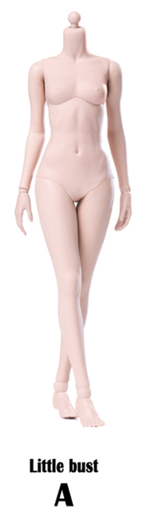 POP Toys - Super Flexible Female Body - Pale (Steel Frame)