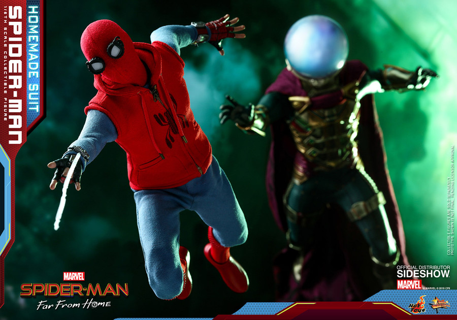 Hot Toys - Spider-Man: Far From Home - Spider-Man (Homemade Suit)