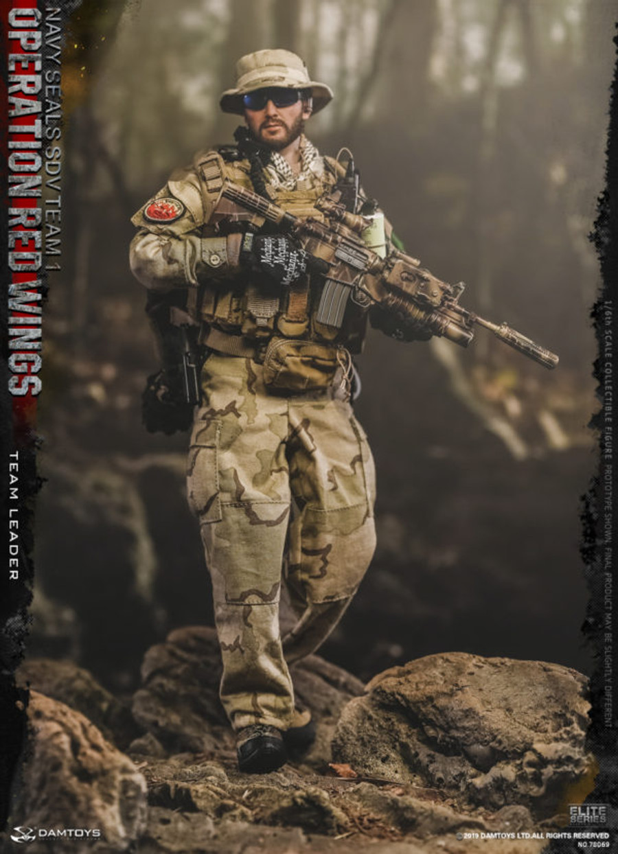 DAM Toys - Operation Red Wings Navy Seals SDV 1 Team Leader