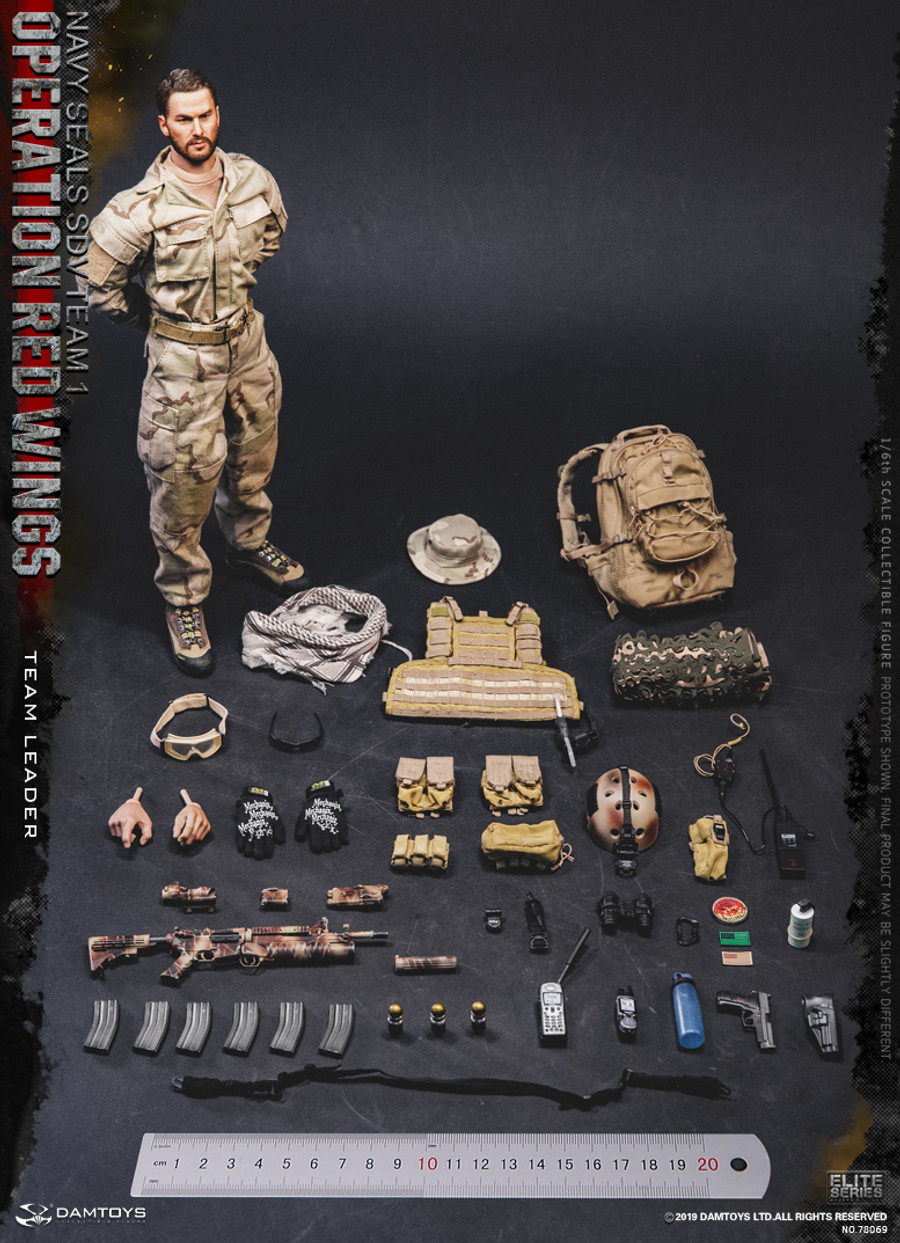 DAM Toys - Operation Red Wings Navy Seals SDV 1 Team Leader