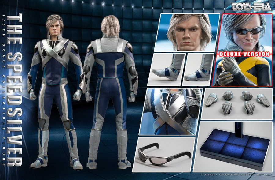 Toys Era - The Speedsilver Ultimate Combat Suit - Deluxe